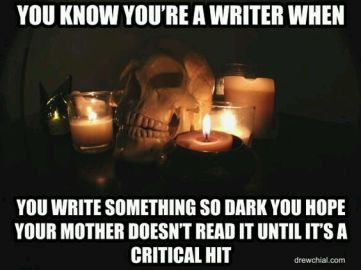 Scary Writing